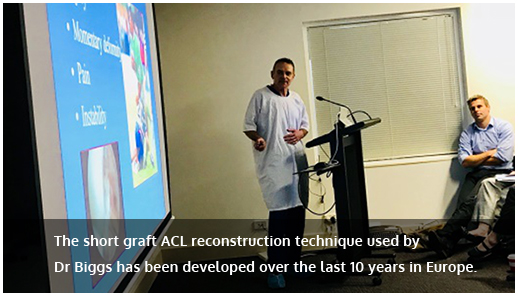 ACl Reconstruction Technique Image
